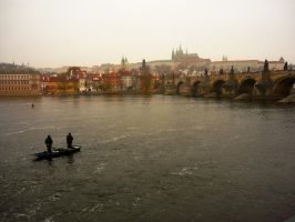 Autumn Prague by LaRoseDePetitPrince