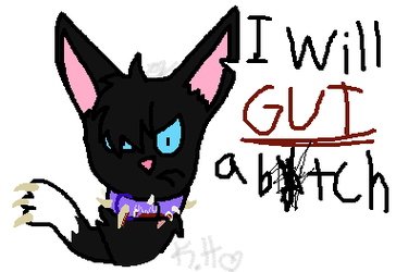 (Warrior cats) Scourge do an anger by eyelessZomp1re
