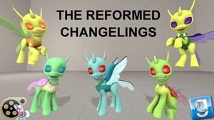 (DL) The Reformed Changelings by Out-Buck-Pony