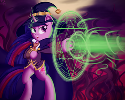 Nightmare Night 2015: Witchcraft Is Magic by FluffyDus