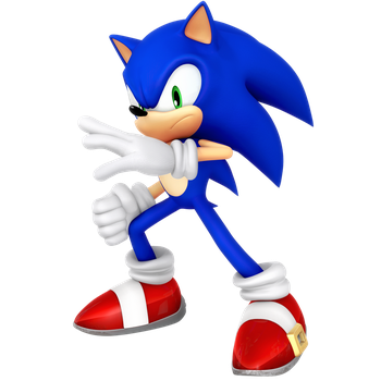 Sonic SHTH Action Pose Render Remake by Nibroc-Rock