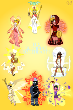 The Olympians: Part 2 by MissEligon