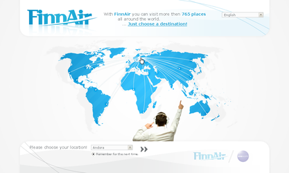 Finn Air - First Page by VoDesign