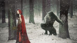 Red Riding Hood by OliverInk