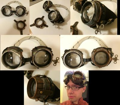 Aviation Technician Goggles by bl4ckr41nb0w