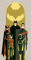 BatFamily by Diego Grosso by ArteX79