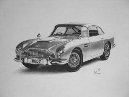 Aston Martin DB5 by mickoc