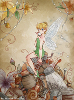 Honey and Lost Things - Tinkerbell by yuuyami-artist