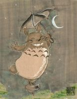 Totoro by lissa-quon
