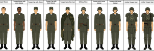 Unfinished Fallout 2077 US Troops by Milosh--Andrich