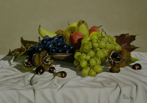Still Life with fruits by ArtbyFlorian