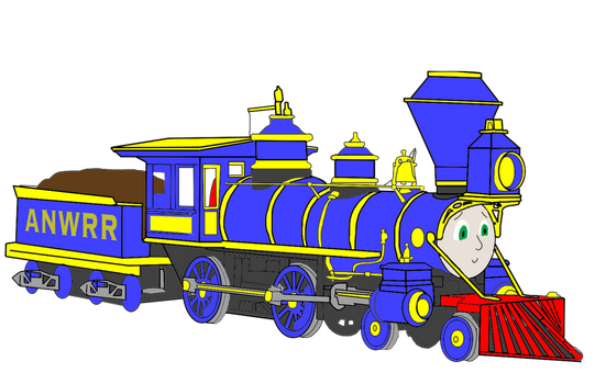 Tillie the Little Engine That Could (Realistic) by PeachLover94