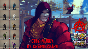 SSF4/USF4 - Cody - Anarky (Batman Arkham Origins) by CrYoBliZZarD