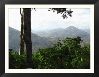 View from Nandi Hills by R-i-BHUS