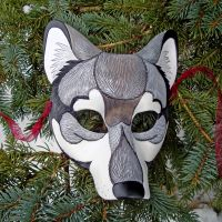 Timber Wolf Mask by merimask