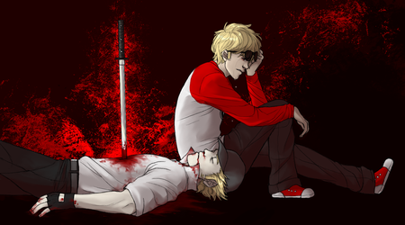 Red means Dead by RoughReaill