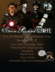 SPG Emerald City Steam Punk Expo (Fan Poster)