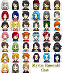 anime face maker 2 - Mystic Emerald by mitchika2