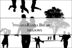 Shadow Brush by anaRasha-stock