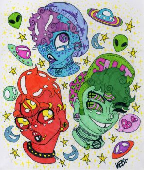 Space Boys  by TANKBELLY