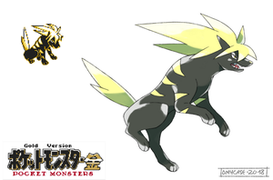 Pokemon Gold Beta - Raikou