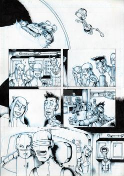 Lou Scannon Issue 4 Page 1 Pencils by GriftersArt