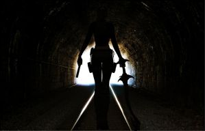 Lara_Croft_Out_of_Darkness by ivedada