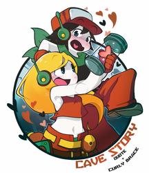 Cave Story: Metalic Love by GeekyKitten64