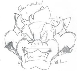 BB: Bowser by Pizza-and-Fandoms