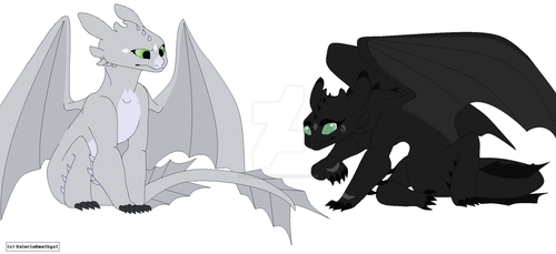 Toothless fan Children OTA. by Claire-Cooper