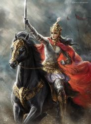 The fearless conqueror of India by Develv