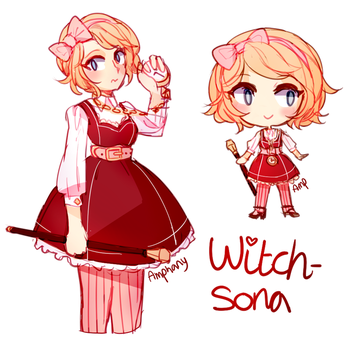 Witchsona 2016 by Amphany