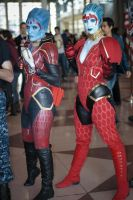 Samara and Samara.. or Morinth?? at NYCC 2012 by BrassIvyDesign