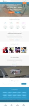 ExhibitPeople website by mdefilippo