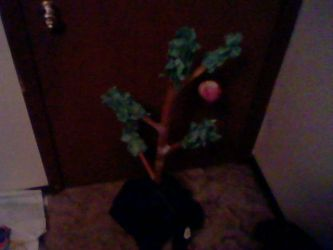 My Finished Charlie Brown Christmas Tree Model by Taqresu650