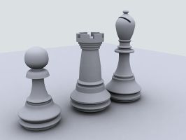 Chess Pieces by sampsonx