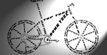 Bike Typography by Iatefailure
