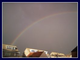 Rainbow At My Parents' Place 1 by Yeapsystar