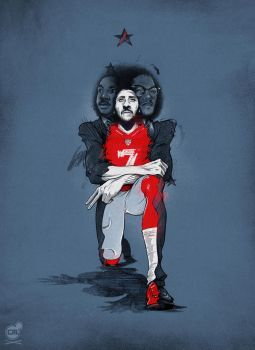 Stand with Kaepernick by ChrisBMurray