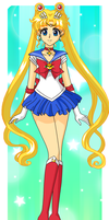 Sailor Moon Crystal by Sailor-Serenity