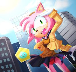Amy: Summer in the City by chickenoverlord