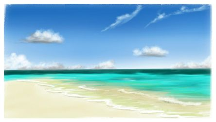 Somewhere in the Maldives. by PG-Artwork