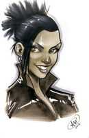 Martha Jones by AdamWithers