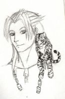 Chibi Tigress.. and Xemmy.. by AngelTigress03
