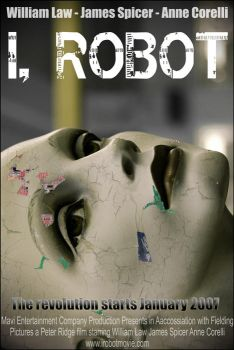 VisDesPoster - I, Robot. by PolygraphPhotography