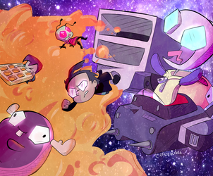 Invader Zim Enter The Florpus by CrazedCakee