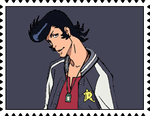 Space Dandy's Stamp by RalphAguilar462