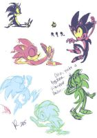 Colorful Sonic Thumbs by Jesness