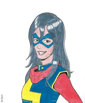 Ms Marvel by FFF66