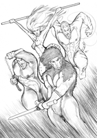 Thundercats Sketch - Pencil by CandyAppleFox